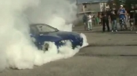Honda Burnout Fail