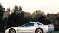Chevrolet Corvette White Shark